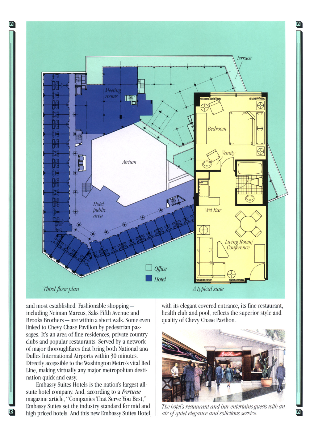 Chevy Chase Pavilion Floor Plans Hilmers Studios