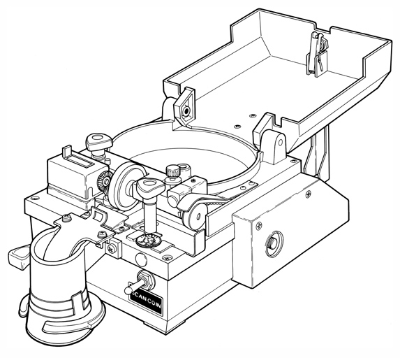 Coin Counter Illustration