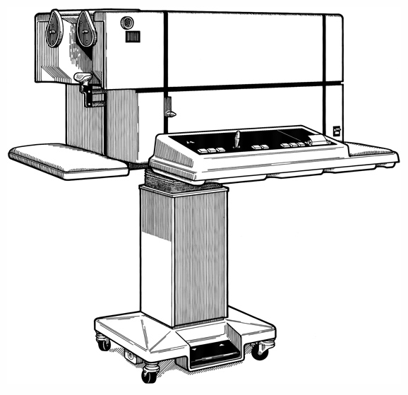 Product Illustration of an Ophthalmology Device