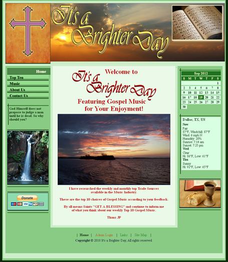 Gospel Music Site